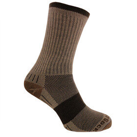 Wrightsock Escape Crew Socks Khaki